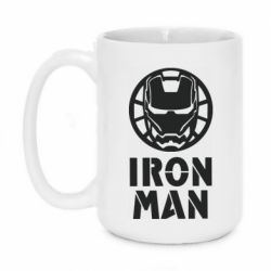 Кружка 420ml Iron man text