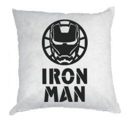 Подушка Iron man text