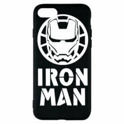 Чохол для iPhone 7 Iron man text