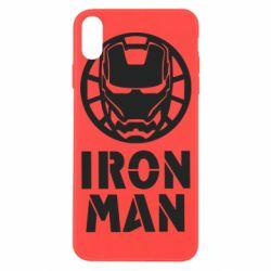 Чохол для iPhone X/Xs Iron man text