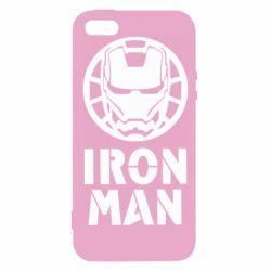 Чохол для iphone 5/5S/SE Iron man text