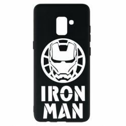 Чохол для Samsung A8+ 2018 Iron man text
