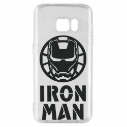 Чохол для Samsung S7 Iron man text