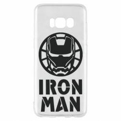 Чохол для Samsung S8 Iron man text