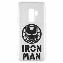 Чохол для Samsung S9+ Iron man text