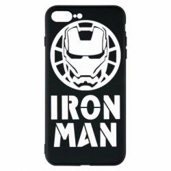 Чохол для iPhone 8 Plus Iron man text