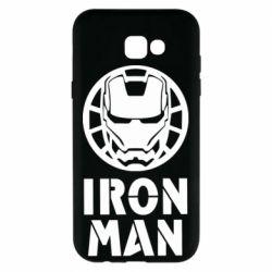 Чохол для Samsung A7 2017 Iron man text