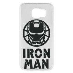 Чохол для Samsung S6 Iron man text