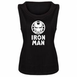 Майка жіноча Iron man text