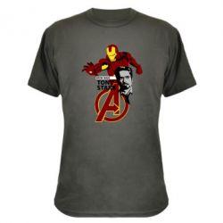 Камуфляжная футболка Iron Man-Tony Stark