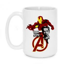 Кружка 420ml Iron Man-Tony Stark