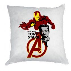 Подушка Iron Man-Tony Stark