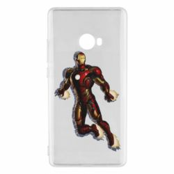 Чехол для Xiaomi Mi Note 2 Iron man with the shadow of the lines