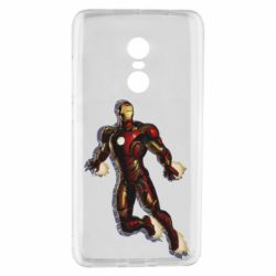 Чехол для Xiaomi Redmi Note 4 Iron man with the shadow of the lines