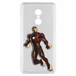Чехол для Xiaomi Redmi Note 4x Iron man with the shadow of the lines