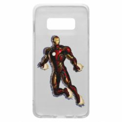Чехол для Samsung S10e Iron man with the shadow of the lines