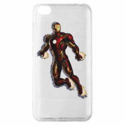 Чехол для Xiaomi Redmi Go Iron man with the shadow of the lines