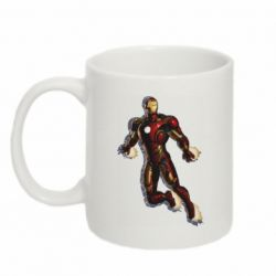 Кружка 320ml Iron man with the shadow of the lines