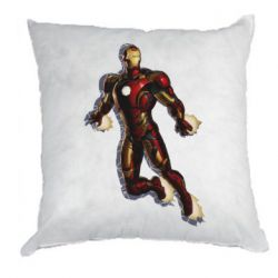 Подушка Iron man with the shadow of the lines