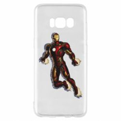 Чохол для Samsung S8 Iron man with the shadow of the lines