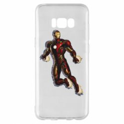 Чохол для Samsung S8+ Iron man with the shadow of the lines