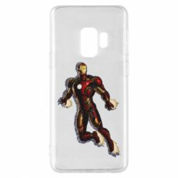Чохол для Samsung S9 Iron man with the shadow of the lines