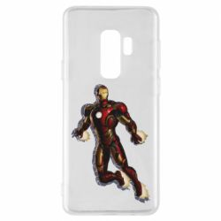Чохол для Samsung S9+ Iron man with the shadow of the lines