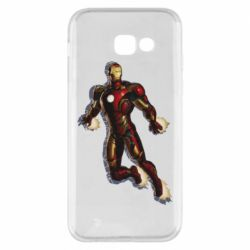Чехол для Samsung A5 2017 Iron man with the shadow of the lines