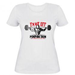Женская футболка Iron Pumping - FatLine