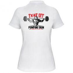 Женская футболка поло Iron Pumping - FatLine