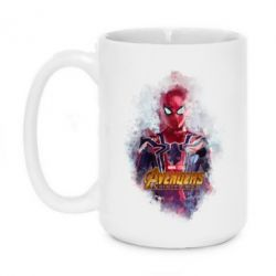 Кружка 420ml Iron Spider art