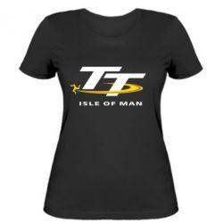 Женская футболка Isle of man - FatLine
