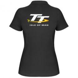 Женская футболка поло Isle of man - FatLine