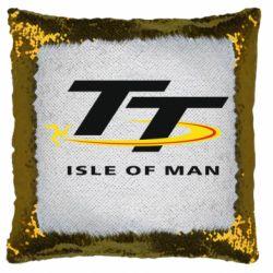Подушка-хамелеон Isle of man