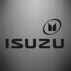 Наклейка ISUZU - FatLine