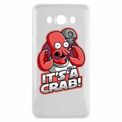 Чохол для Samsung J7 2016 It's a crab!