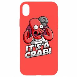 Чохол для iPhone XR It's a crab!