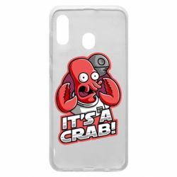 Чохол для Samsung A20 It's a crab!