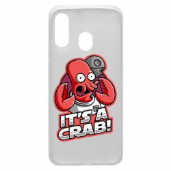 Чохол для Samsung A40 It's a crab!