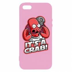 Чохол для iphone 5/5S/SE It's a crab!