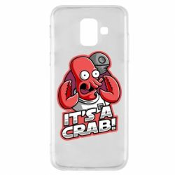 Чохол для Samsung A6 2018 It's a crab!