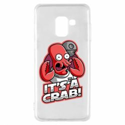 Чохол для Samsung A8 2018 It's a crab!