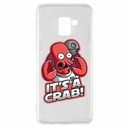 Чохол для Samsung A8+ 2018 It's a crab!