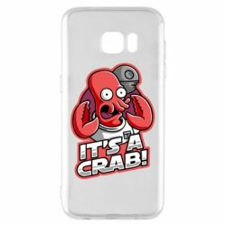 Чохол для Samsung S7 EDGE It's a crab!