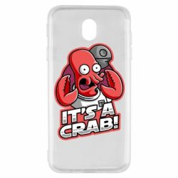 Чохол для Samsung J7 2017 It's a crab!