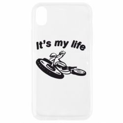 Чехол для iPhone XR It's my moto life - FatLine