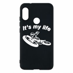 Чехол для Mi A2 Lite It's my moto life - FatLine