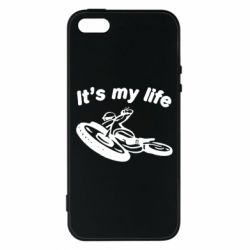 Чехол для iPhone5/5S/SE It's my moto life - FatLine