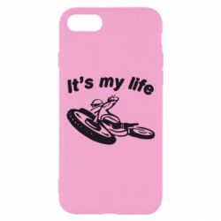 Чехол для iPhone 7 It's my moto life - FatLine
