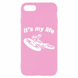 Чехол для iPhone 8 It's my moto life - FatLine